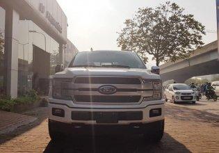 Cần bán Ford F 150 Platinum sản xuất 2018 model 2019, màu trắng, nhập khẩu giá 3 tỷ 950 tr tại Hà Nội