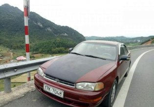Bán Toyota Camry đời 1994, màu đỏ, xe chạy ngon số tốt, máy êm giá 105 triệu tại Hà Nội