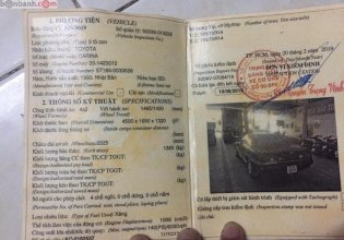 Bán Toyota Carina 2.0MT sản xuất 1990, màu đen, nhập khẩu xe gia đình  giá 75 triệu tại Long An
