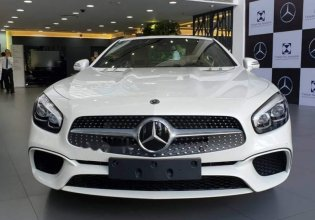Bán gấp Mercedes SL400 đời 2018, màu trắng, xe nhập giá 6 tỷ 709 tr tại Tp.HCM