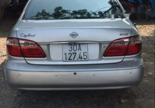 Bán Nissan Cefiro năm sản xuất 2001, màu bạc, nhập khẩu nguyên chiếc, số sàn giá 140 triệu tại Hà Nội