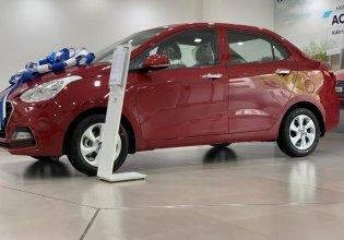 Hyundai Grand I10 Sedan AT, màu đỏ, xe giao ngay, nhận xe chỉ với 130tr, hỗ trợ đăng ký grab. Lh: 0977 139 312 giá 405 triệu tại Tp.HCM