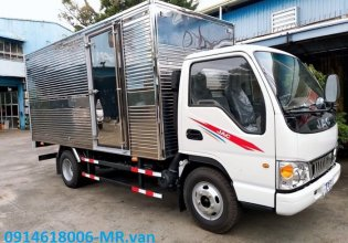 Đại lý bán JAC 2T4 máy ISUZU thùng dài 4m3 giá tốt hỗ trợ vay cao giá 340 triệu tại Tp.HCM
