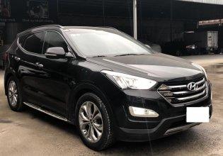 Bán Hyundai Santa Fe 2.4AT, 4WD Full xăng, màu đen, đời 2015, biển SG giá 876 triệu tại Tp.HCM