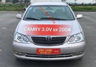 Bán ô tô Toyota Camry 3.0V sản xuất năm 2004, màu phấn hồng giá 340 triệu tại Hà Nội