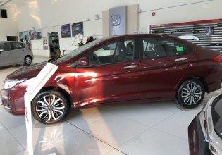 Cần bán Honda City L đời 2019, màu đỏ giá cạnh tranh giá 599 triệu tại Tp.HCM