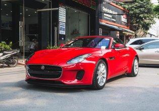 Bán xe Jaguar F Type R-Dynamic Convertible đời 2018, màu đỏ, nhập khẩu giá 6 tỷ 450 tr tại Hà Nội