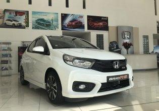 Bán xe Honda Brio RS đời 2020, màu trắng, xe Nhập Indonesia (Tặng tiền mặt lên đến 20tr + Gói phụ kiện 20tr) giá 398 triệu tại Hà Nội