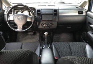 Cần bán xe Nissan Tiida đời 2008, màu xanh lam số tự động, giá 320tr giá 320 triệu tại Tp.HCM