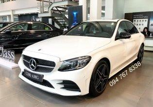 Bán Mercedes C300 AMG 2020, giao ngay giá ưu đãi lớn nhất, mua xe chỉ với 399tr giá 1 tỷ 920 tr tại Hà Nội