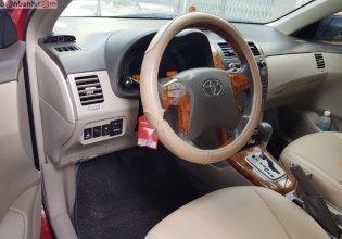 Bán xe Toyota Corolla altis 1.8 AT đời 2009, màu đỏ, nhập khẩu   giá 410 triệu tại Hà Nội