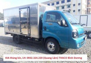 Trả trước 100 triệu đã mua được chiếc Kia K250 tải 2.49 tấn, máy Hyundai đời 2019, thùng dài 3.5 mét, xe tại Thuận An giá 382 triệu tại Bình Dương