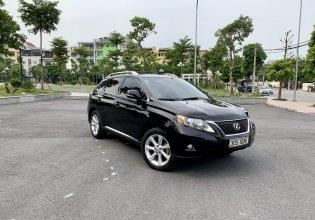 Bán Lexus RX 350 sản xuất 2009, màu đen, nhập khẩu giá 1 tỷ 290 tr tại Hà Nội