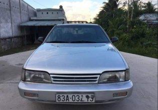 Bán xe Hyundai Sonata 1991 màu bạc, sơn mới tinh, máy mới làm rất đẹp giá 75 triệu tại Sóc Trăng