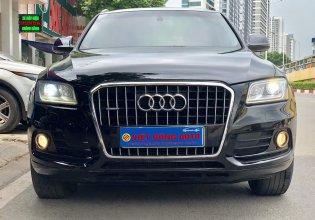 Bán Audi Q5 2.0T sản xuất 2013 đen/nâu giá 1 tỷ 185 tr tại Hà Nội
