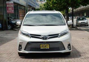 Bán Toyota Sienna Limited FWD 3.5 2019, màu trắng, nhập Mỹ mới 100% giá 4 tỷ 280 tr tại Hà Nội