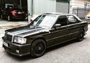 Bán ô tô Mercedes 190E sản xuất 1989, màu đen, xe nhập giá cạnh tranh giá 170 triệu tại Đồng Nai