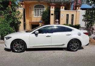 Cần bán gấp Mazda 6 2.5 năm 2016, màu trắng giá 750 triệu tại Tp.HCM