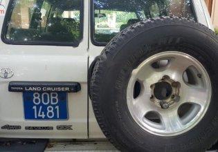 Bán Toyota Land Cruiser 4.5 MT năm 1994, màu trắng, xe nhập giá 135 triệu tại Hà Nội