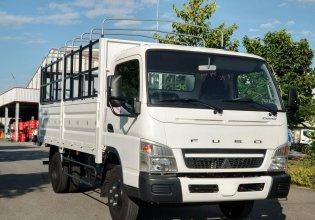 Bán xe tải Misubishi Fuso 6.5 thùng mui bạt - 3,4 tấn trả góp 80% giá 711 triệu tại Bắc Ninh