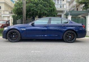 Bán BMW 5 Series 520i đời 2016, màu xanh lam, nhập khẩu giá 1 tỷ 599 tr tại Hà Nội