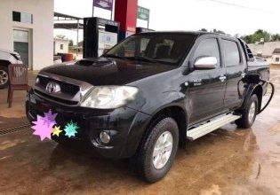 Cần bán Toyota Hilux 2009, màu đen, giá 360tr giá 360 triệu tại Đắk Lắk