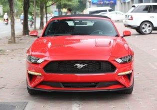 Bán ô tô Ford Mustang Convertible 2.3 Ecoboost đời 2019, màu đỏ, nhập khẩu giá 3 tỷ 159 tr tại Hà Nội