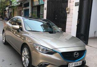 Bán Mazda 6 2.5 năm 2016, màu vàng, xe nhập, chính chủ giá 790 triệu tại Tp.HCM