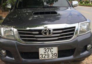 Cần bán xe Toyota Hilux sản xuất 2013, màu xám, giá tốt giá 500 triệu tại Nghệ An