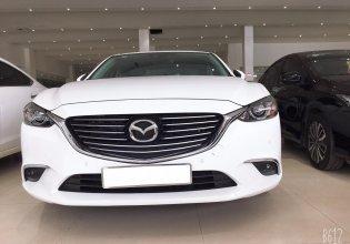Bán Mazda 6 sản xuất 2018, màu trắng, giá 840tr giá thương lượng, hỗ trợ trả góp giá 840 triệu tại Tp.HCM