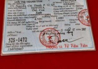 Bán Toyota Camry 2.2 đời 1991, nhập khẩu, giá 128tr giá 128 triệu tại Bến Tre