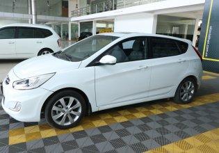 Bán Hyundai Accent Hatchback Blue 1.4AT sản xuất 2015, màu trắng, nhập khẩu giá 456 triệu tại Tp.HCM