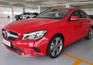 Bán ô tô Mercedes CLA 200 năm 2017, màu đỏ, nhập khẩu nguyên chiếc giá 1 tỷ 525 tr tại Bình Phước