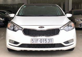 Cần bán xe Kia K3 năm sản xuất 2014, màu trắng giá 490 triệu tại Tp.HCM