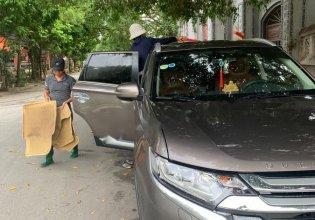 Bán Mitsubishi Outlander năm sản xuất 2016, màu nâu, xe nhập   giá 900 triệu tại Ninh Bình