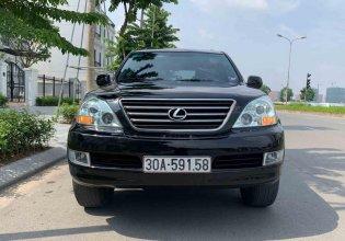 Cần bán Lexus GX470 đời 2009, màu đen, nhập khẩu chính hãng giá 1 tỷ 430 tr tại Hà Nội