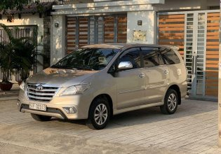 Gia đình bán Toyota Innova đời 2015, màu vàng cát giá 535 triệu tại Tp.HCM