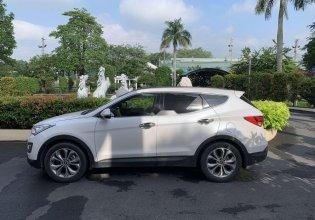 Cần bán xe Hyundai Santa Fe 2015, màu trắng, nhập khẩu xe gia đình, giá 830tr giá 830 triệu tại Bình Dương