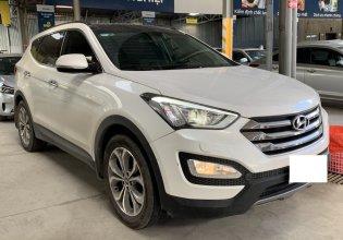 Hãng bán Hyundai SantaFe 4WD 2.4AT, 2015 màu trắng, biển SG giá 846 triệu tại Tp.HCM