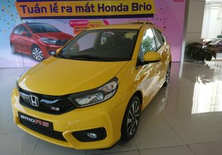 Giao ngay Brio 1.2 đời 2019, màu vàng, tại Honda Ôtô Thanh Hóa, LH: 0962028368 giá 418 triệu tại Thanh Hóa