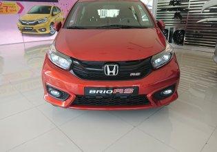 Cần bán Honda Brio 1.2 RS màu cam tại Thanh Hóa, giảm giá cực sốc, LH: 0962028368 giá 448 triệu tại Thanh Hóa