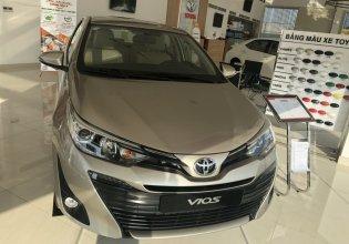 Toyota Vios 1.5G cao cấp màu nâu vàng khuyến mãi khủng - giao xe ngay giá 550 triệu tại Tp.HCM