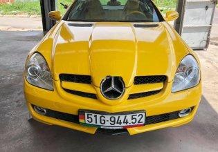 Bán Mercedes SLK350 2008, màu vàng, nhập khẩu giá 860 triệu tại Tp.HCM