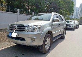 Bán xe Toyota Fortuner đời 2009, màu bạc, số tự động giá 450 triệu tại Cao Bằng