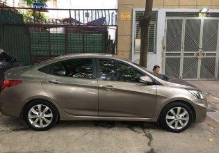 Cần bán Hyundai Accent đời 2013, màu vàng, xe nhập giá 405 triệu tại Thái Nguyên