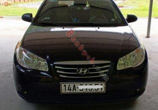 Bán Hyundai Elantra 1.6 MT đời 2011, màu đen, chính chủ giá 250 triệu tại Quảng Ninh