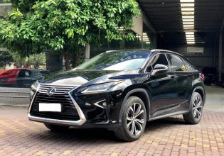 Bán xe Lexus RX350 Luxury model 2017, màu đen, nhập khẩu chính hãng giá 3 tỷ 550 tr tại Hà Nội