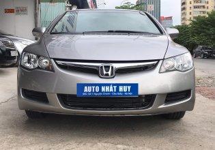 Cần bán xe Honda Civic 1.8 MT đời 2007, màu xám giá 320 triệu tại Hà Nội