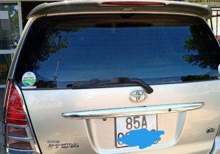Gia đình bán Toyota Innova G đời 2007, màu bạc giá 310 triệu tại Ninh Thuận