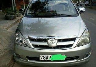 Cần bán gấp Toyota Innova 2008, màu bạc, nhập khẩu, 325tr giá 325 triệu tại Phú Yên
